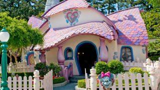 女の子が喜ぶハートやリボンがいっぱいのスウィートなミニーの家
