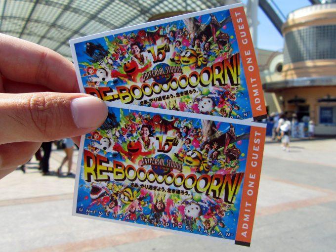 USJのチケット(スタジオ・パス)