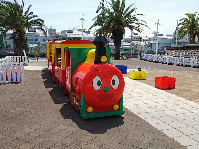【神戸アンパンマンこどもミュージアム】イベント《ロードトレイン「SLマン」》