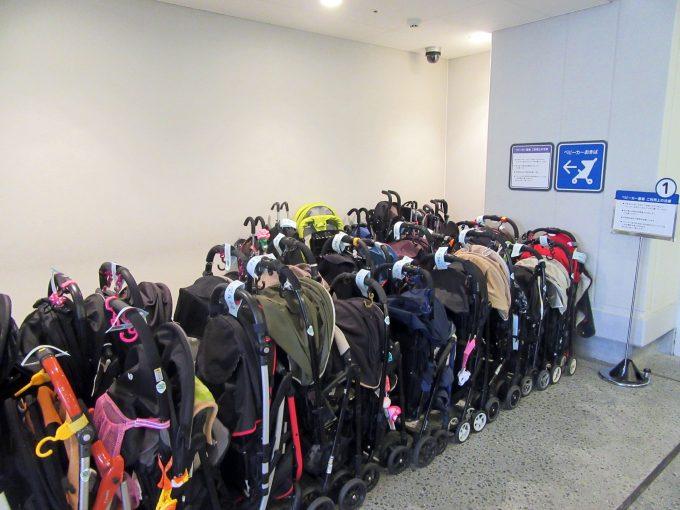 【神戸アンパンマンこどもミュージアム】施設設備《ベビーカー置き場》