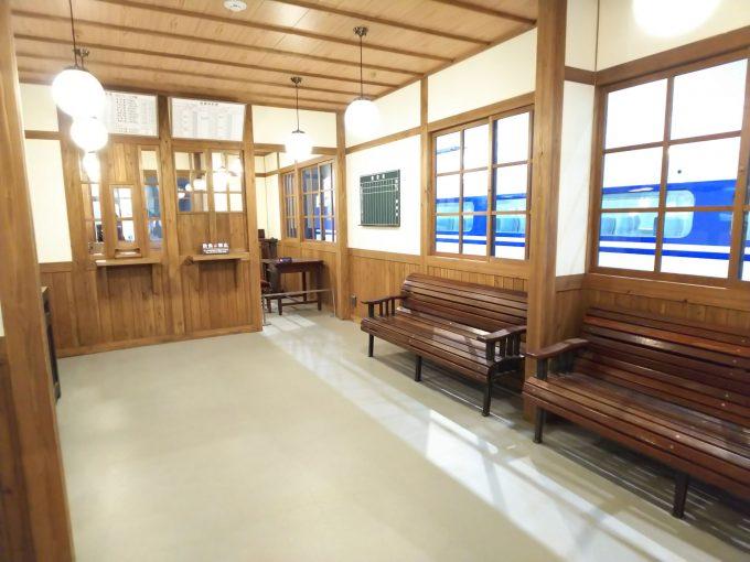 【京都鉄道博物館】本館1F《昭和の駅「内部」》