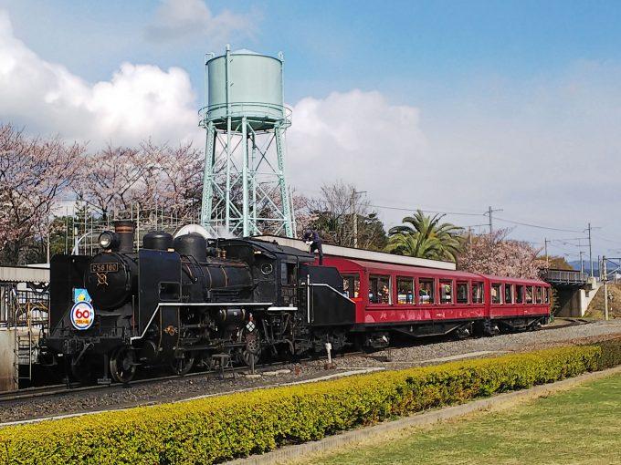 【京都鉄道博物館】SLスチーム号
