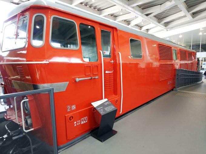 【京都鉄道博物館】展示車両(プロムナード)《DD54形33号機》