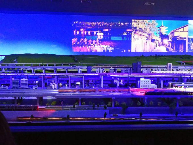 【京都鉄道博物館】本館2F《鉄道ジオラマ「開催中」》