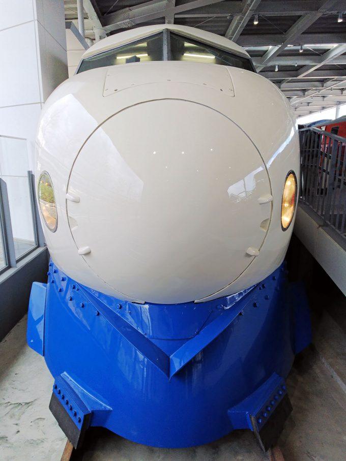 【京都鉄道博物館】展示車両(プロムナード)《新幹線0系22形1号車》