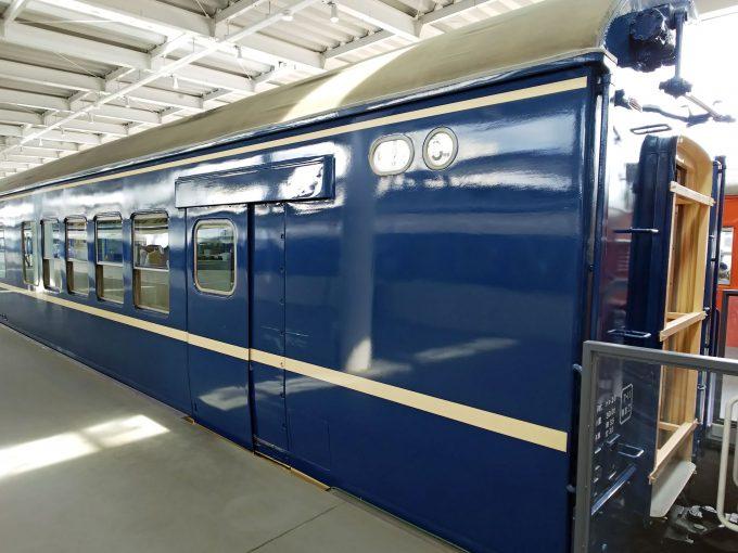 【京都鉄道博物館】展示車両(プロムナード)《ナシ20形24号車》
