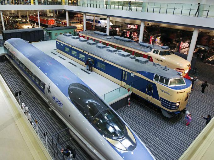 【京都鉄道博物館】本館1F《全景》