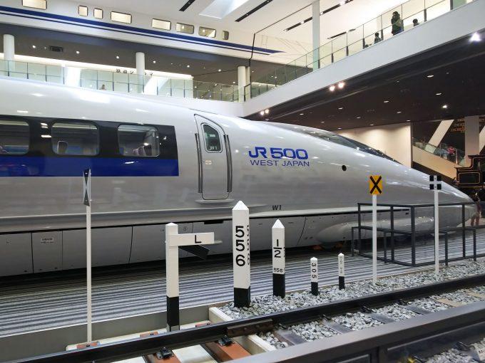 【京都鉄道博物館】展示車両(本館1F)《新幹線500系521形1号車》