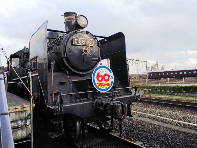 【京都鉄道博物館】SLスチーム号《前から》