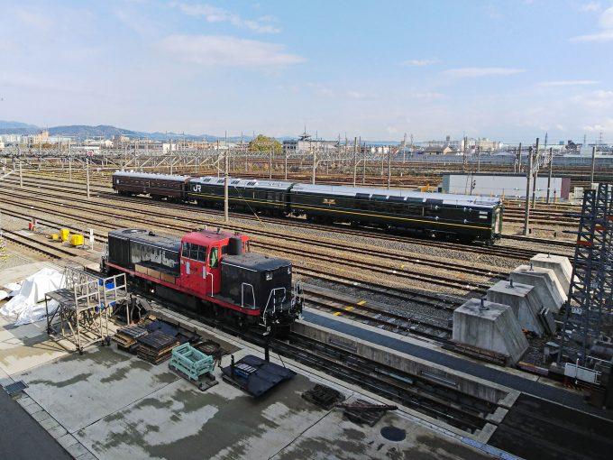 【京都鉄道博物館】引込線《全景》