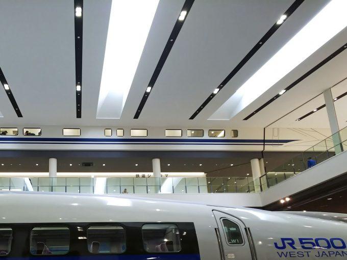 【京都鉄道博物館】本館3F《休憩エリア「1Fから」》
