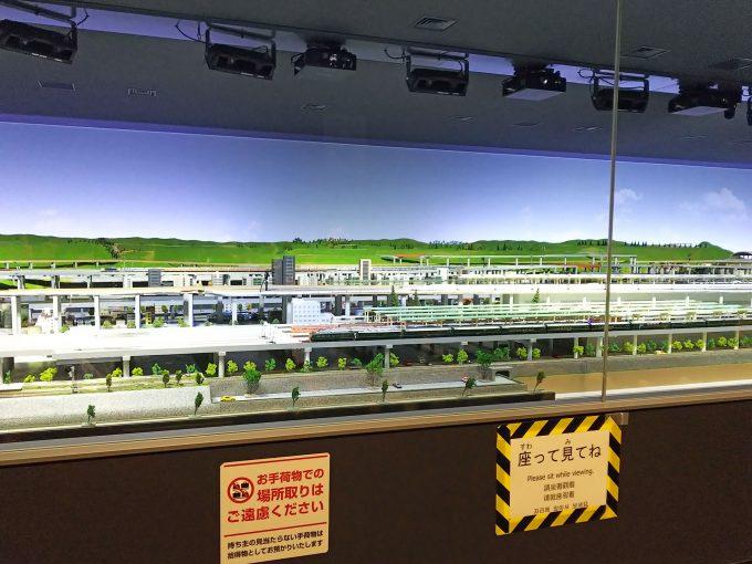 【京都鉄道博物館】本館2F《鉄道ジオラマ》