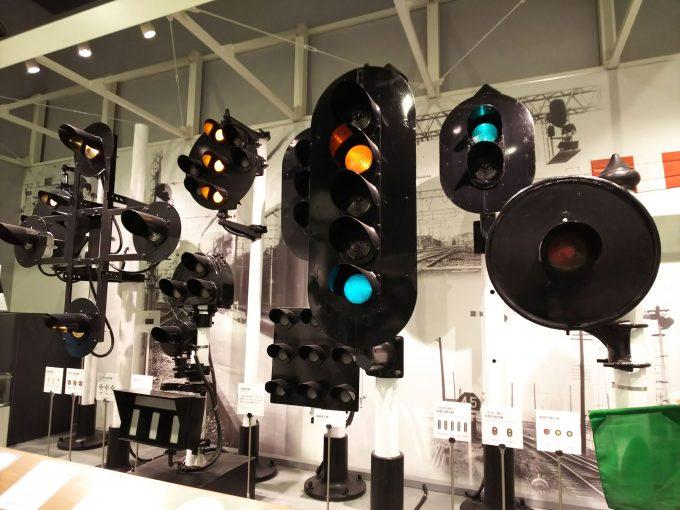 【京都鉄道博物館】本館1F《信号機》