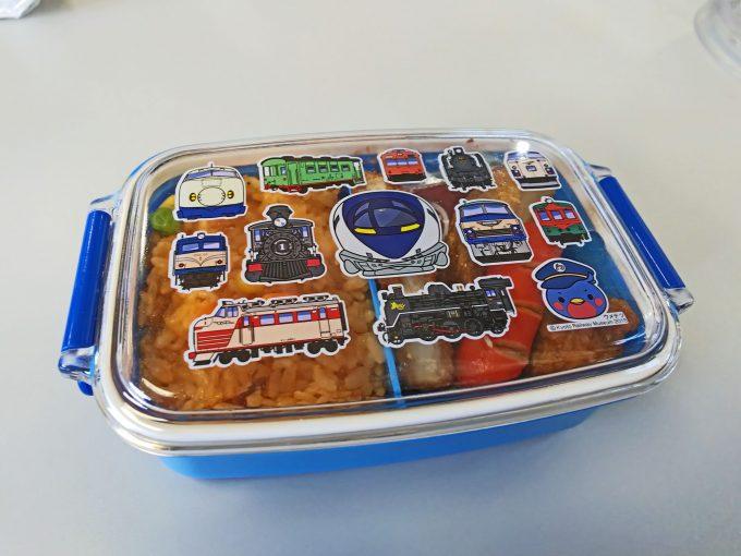 【京都鉄道博物館】食事《ナシ20形食堂車「ウメテツランチBOX」》