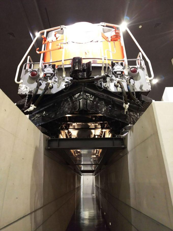 【京都鉄道博物館】本館1F《電車が下から見れる》