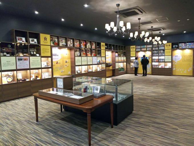【京都鉄道博物館】本館2F《鉄道と文化ライブラリー》